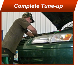 complete car tune-up