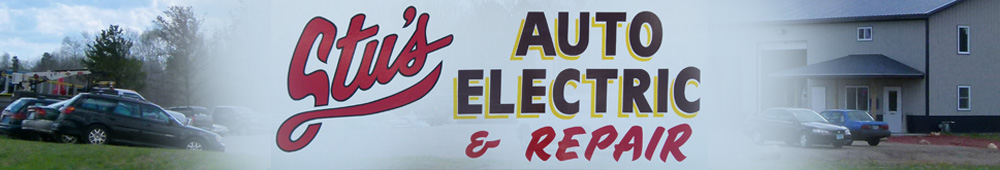 Stu's Auto Electric and Repair Banner